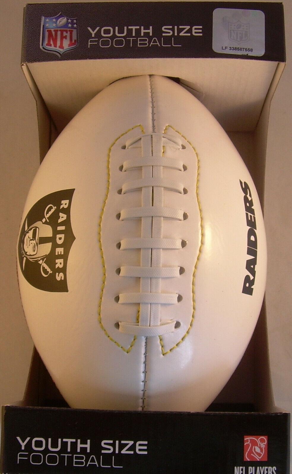 NFL CP BX Team Logo Football Youth Las Vegas  Raiders