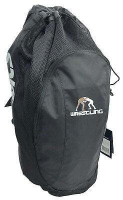 0a7d01525 Asics Athletic Drawstring Wrestling Gear Bag Backpack Rucksack Asics ZR307  NEW!
