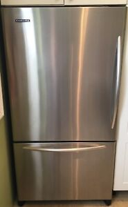 Kitchen Aid stainless steele appliance set $1500
