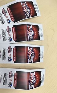 ICECAPS tickets for Saturday night