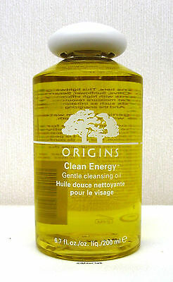 Origins Clean Energy Gentle Cleansing Oil - 200ml  - FULL SIZE