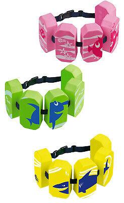 BECO Sealife Schwimmhilfe Schwimmgürtel 5-Block  grün/pink/gelb