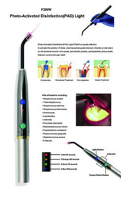 Dental Photo-activated Heal Diode Laser Pad Disinfection Light Lamp High-power