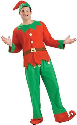 Elf Simply Adult Men's Costume Red & Green  Fancy Dress Up Forum Novelties](Male Elf Dress Up)