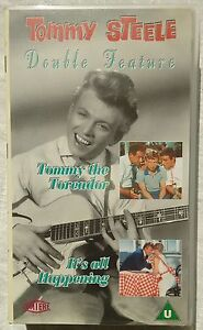 VHS Tommy Steele Double Feature &quot;Tommy The Toreador/It&#039;s All Happening&quot; - <span itemprop='availableAtOrFrom'>Wien, Österreich</span> - VHS Tommy Steele Double Feature &quot;Tommy The Toreador/It&#039;s All Happening&quot; - Wien, Österreich