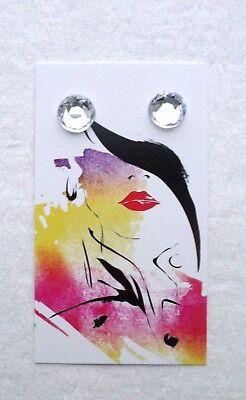 Boutique Earrings Displays 100 Earring Holders Cute Model Basket Earring Cards