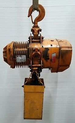 Beebe 3 Ton Chain Hoist L4e3 L4e3fhssp 17 Ft.min. 4 Hp 1710 Rpm 220440 3 Ph
