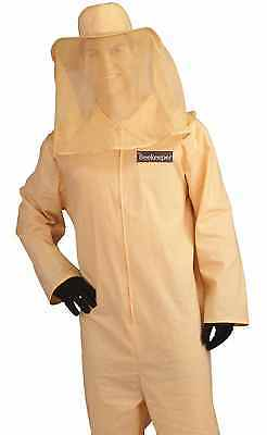 Bee Keeper Handler Adult Deluxe BeeKeeper Honey Halloween Costume  - Fast Ship -
