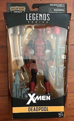 "Marvel Legends Deadpool 6"" X-Men Action Figure BAF Juggernaut Series - New"