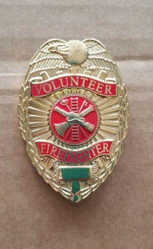 Gold Volunteer Fireman