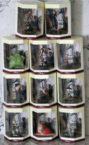 1993 THE NIGHTMARE BEFORE CHRISTMAS TINY KINGDOM COMPLETE SET OF 11 CHARACTERS