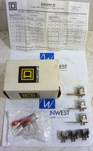 Square D 9999 S & SJ - FUSE CLIP KIT - NEW