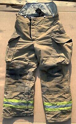 Lion Turnout Bunker Pants Fire Fighting Firefighter Gear 32r