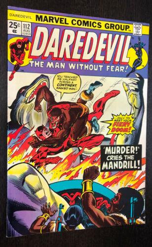 DAREDEVIL #112 (Marvel 1974) -- B -- VF-
