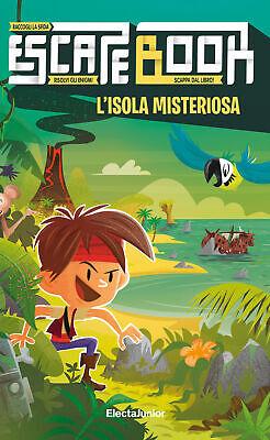 Escape Book: l'isola misteriosa