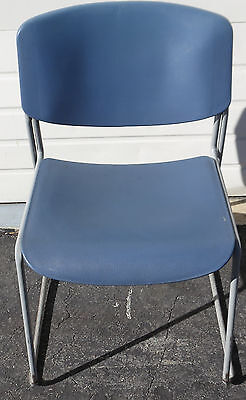 Lot of 9 Heavy-Duty Commercial Plastic Stacking Chair - Heavy Duty Stacking Chair