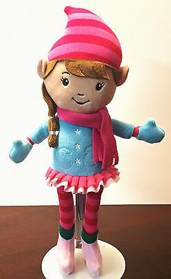 "Hallmark Clementine Elf 13"" Plush North Pole Stuffed Doll Toy Christmas"