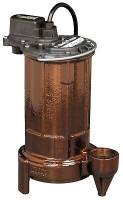 Liberty Pumps 283 12 Hp Cast Iron Sumpeffluent Pump