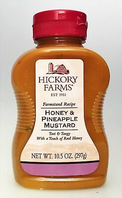Hickory Farms Farmstand Recipe Honey & Pineapple Mustard 10.5 oz 2/2018