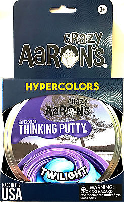 Twilight Hypercolor Heat Sensitive Crazy Aarons Thinking Putty Large 4 Inch 3 2