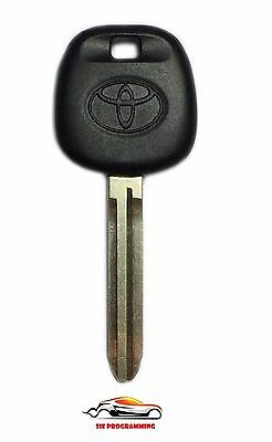 New Replacement Ignition Chip Car Fob Key with 4D-67 Transponder for Toyota