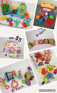 Toys and other baby items