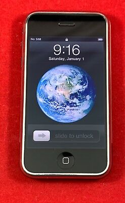 Apple iPhone 2G Original 1st Generation 8GB Black GSM Unlocked A1203 MA712LL/A
