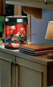 Jellyfish Light Up Tank  Realistic Colour Changing Led Mood Sensory Night Lamp