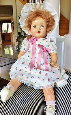 Vintage Antique Composition American Character Chuckles Little Love RARE Doll 18