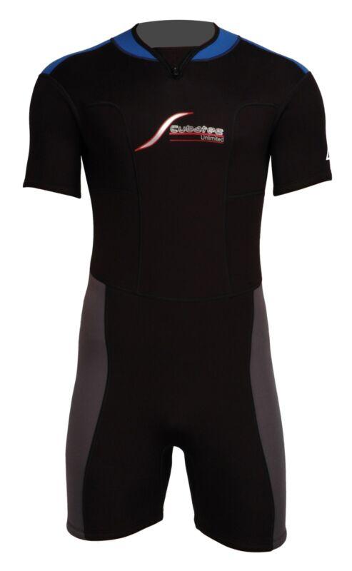 3mm Scubatec Neopren Shorty Neoprenanzug Surfshorty Surfanzug bis Größe 60