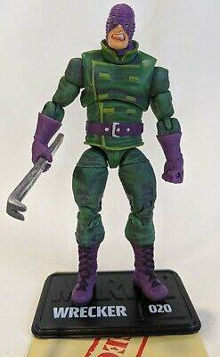"""Marvel Universe WRECKER 3.75"""" inch Action Figure LOOSE #020 Wrecking Crew"""