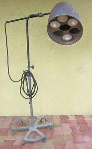 RG Levallois lampe lampadaire garage industriel usine atelier - France - Période: Design du XXme - France