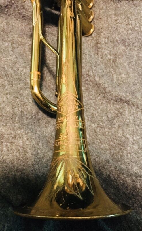 VINTAGE American-Made TRUMPET w/ Case & More!