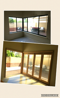 Solid timber bi fold doors supply and fit available.