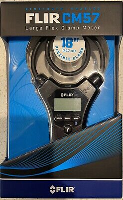 New Flir Cm57 18 Flexible Clamp Meter