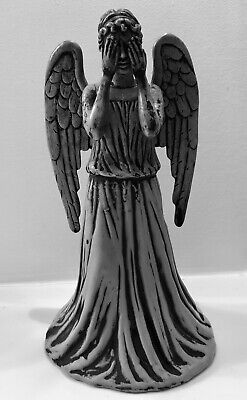 """Doctor Who Weeping Angel Christmas Tree Topper Grey 8.5"""""""