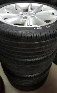 FORD XR6 ALLOY WHEELS AND TYRES