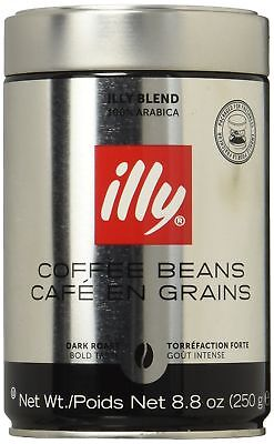 Illy Scuro Predominantly Bean Coffee Dark Roast Cans - 8.8 Oz (Pack of 6)