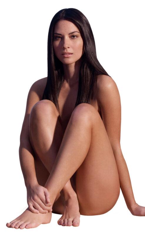 Olivia Munn Nude Sitting On The Floor 8x10 Photo Print
