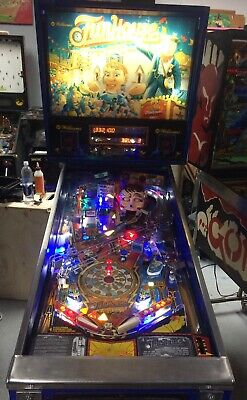1990 FUNHOUSE PINBALL MACHINE TALKING HEAD LEDS PAT LAWLOR LEDS