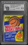 Unopened Basketball Wax Packs
