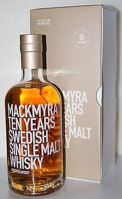 Mackmyra TEN 10y 46,1% Ex-Bourbon, Virgin Oak, Oloroso 0.7L - ANGEBOT