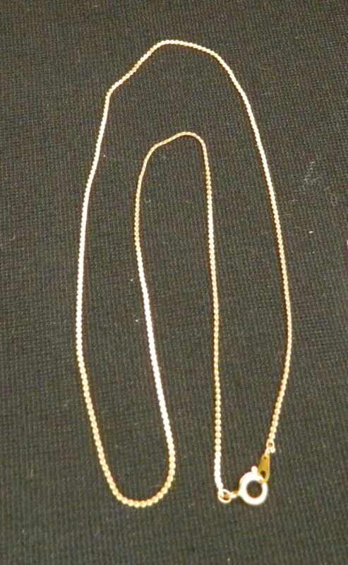 154#C-- Necklace Chain Gold Tone