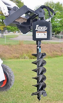 Bobcat Skid Steer Attachment Lowe 750 Classic Round Auger with 12