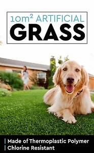 10 SQM Synthetic Artificial Grass Turf Plastic Olive Green Plant Perth Perth City Area Preview