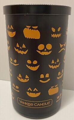 Yankee Candle Halloween Trick Or Treat Decorative Pillar Candle