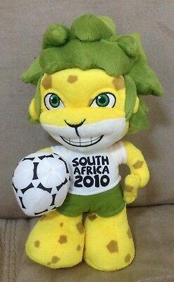 "ZAKUMI South Africa FIFA Soccer FOOTBALL Mascot PLUSH 9"" Doll 2010 World Cup segunda mano  Embacar hacia Argentina"
