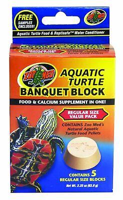 Zoo Med Aquatic Turtle Banquet Block Value Pack