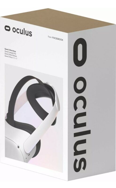 Oculus - Quest 2 Elite Strap for Enhanced Support and Comfort in VR - Gray