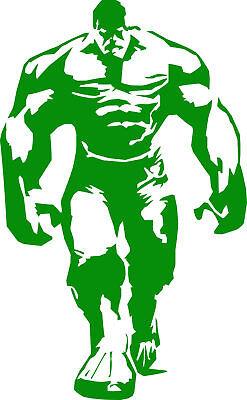 Hulk vinyl decal car bumper sticker marvel comic book superhero - Hulk Decal